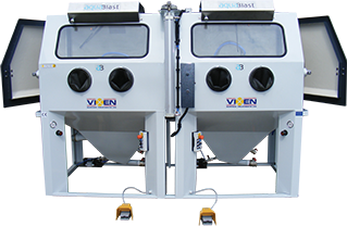 Custom wet blasting machines